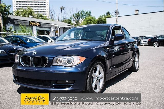2010 bmw 1 series 128i ottawa ontario used car for sale 2555219. Black Bedroom Furniture Sets. Home Design Ideas