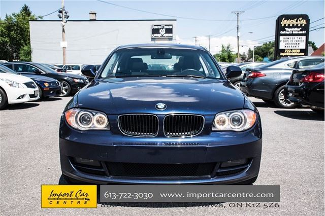 2010 bmw 1 series 128i ottawa ontario used car for sale. Black Bedroom Furniture Sets. Home Design Ideas