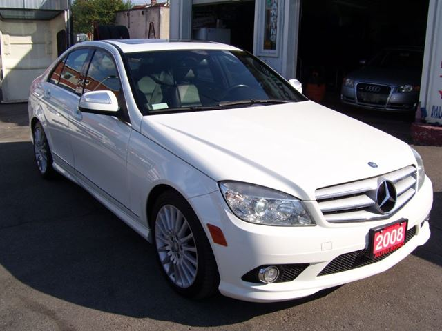 2008 mercedes benz c class 2 5l 4 matic bluetooth