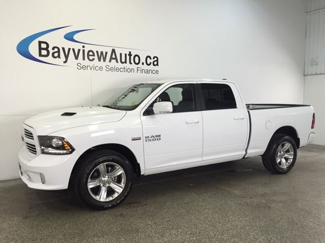2016 dodge ram 1500 sport hemi sunroof leather nav u connect belleville ontario used. Black Bedroom Furniture Sets. Home Design Ideas