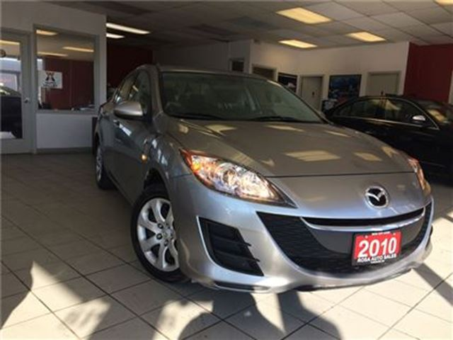 2010 MAZDA MAZDA3 4dr Sdn Auto REMOTE START A/C PW PL SAFETY ETEST N in Oakville, Ontario