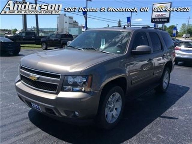 2011 CHEVROLET Tahoe LT  - Leather Seats -  Bluetooth -  Heated Seats in Woodstock, Ontario