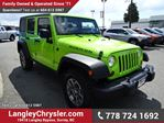 2013 Jeep Wrangler Unlimited Rubicon w/ Bluetooth, Navigation & Leather in Surrey, British Columbia
