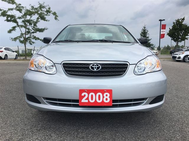 2008 toyota corolla ce barrie ontario car for sale 2558341. Black Bedroom Furniture Sets. Home Design Ideas