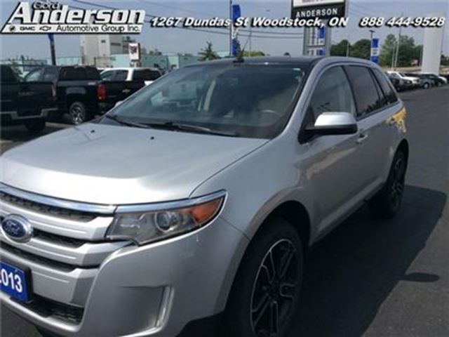 2013 FORD EDGE SEL - Certified - Bluetooth -  Sync -  Siriusxm in Woodstock, Ontario