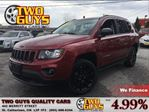 2012 Jeep Compass Sport/North BLACK TOP EDITION MOONROOF HEATED MIRR in St Catharines, Ontario