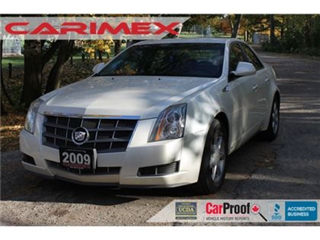 2009 CADILLAC CTS 3.6L 3.6L   CERTIFIED in Kitchener, Ontario