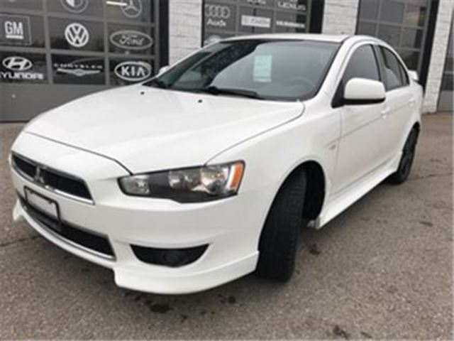 2013 MITSUBISHI LANCER SE 10th Anniversary Heated Seats Sunroof in Guelph, Ontario