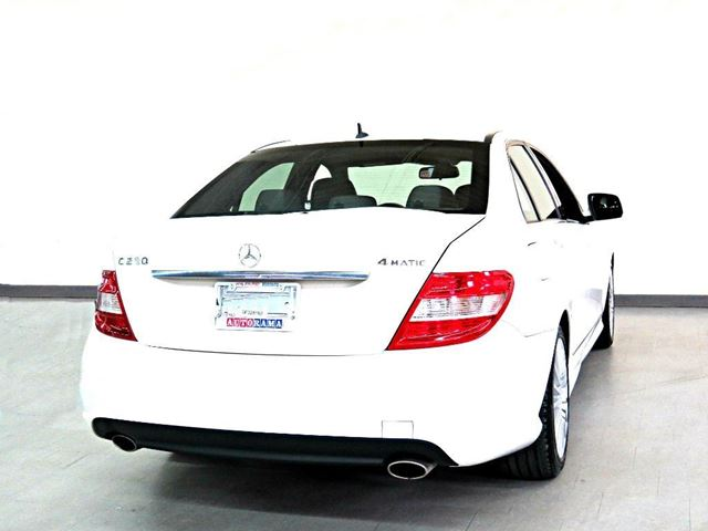 2009 mercedes benz c class c230 4matic awd leather sunroof for 2009 mercedes benz c230