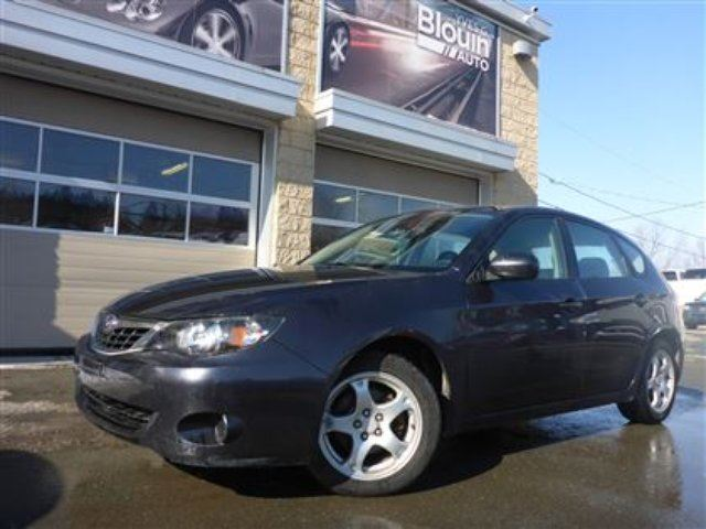 used 2009 subaru impreza 2 5 i seulement 101 781km. Black Bedroom Furniture Sets. Home Design Ideas