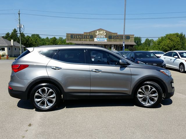 2014 hyundai santa fe limited smiths falls ontario used car for sale 2559883. Black Bedroom Furniture Sets. Home Design Ideas