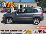2013 Volkswagen Tiguan 2.0 TSI Comfortline LEATHER PANORAMIC ROOF HE in St Catharines, Ontario