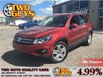 2012 Volkswagen Tiguan 2.0 TSI Comfortline AWD PANORAMIC ROOF LEATHE in St Catharines, Ontario