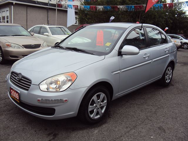 2009 Hyundai Accent AUTOMATIC LOW KMS ONE OWNER Steel