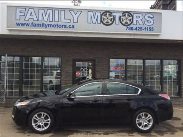 2010 Acura Tl Loaded Only 103k Black Family Motors