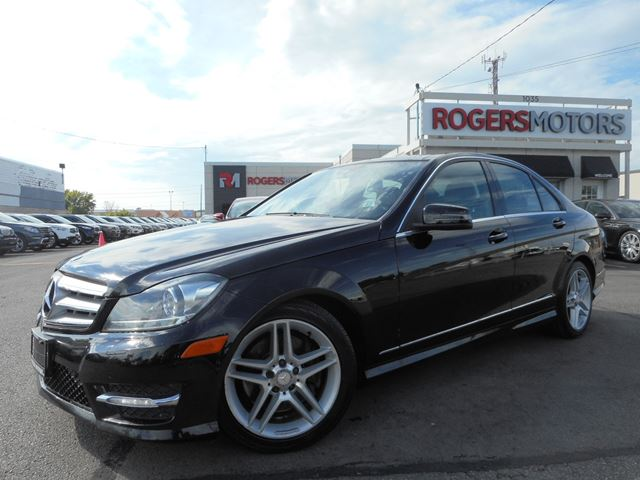 2012 mercedes benz c300 4matic navi panoramic roof black rogers motors. Black Bedroom Furniture Sets. Home Design Ideas