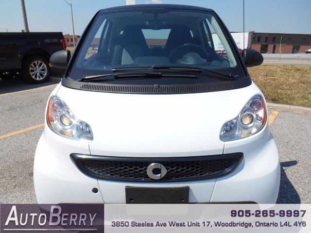 2013 smart fortwo pure package woodbridge ontario used car for sale 2561680. Black Bedroom Furniture Sets. Home Design Ideas