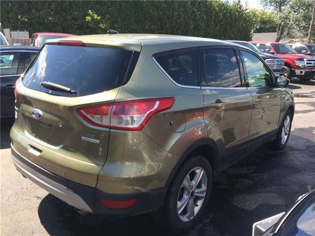 2014 ford escape se north bay ontario used car for sale 2562843. Black Bedroom Furniture Sets. Home Design Ideas