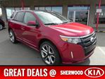2013 Ford Edge AWD SPORT Great Price & Financing Available $245 Bi-weekly ~ Click Here! in Sherwood Park, Alberta