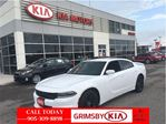 2015 Dodge Charger SXT WITH BLACK WHEEL SKINS,SPOILER,TINT! in Grimsby, Ontario