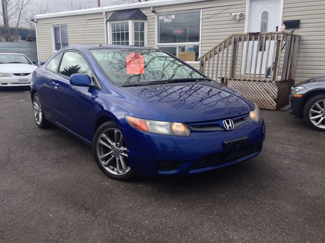 2008 honda civic si ottawa ontario used car for sale 2563140. Black Bedroom Furniture Sets. Home Design Ideas
