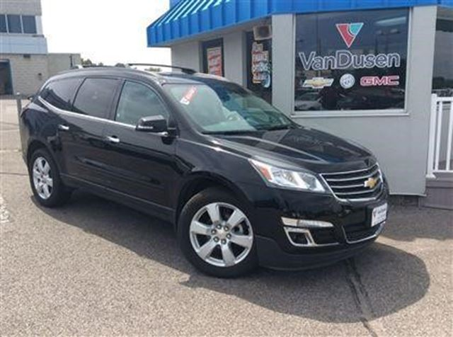 2016 chevrolet traverse lt ajax ontario used car for sale 2563903. Black Bedroom Furniture Sets. Home Design Ideas
