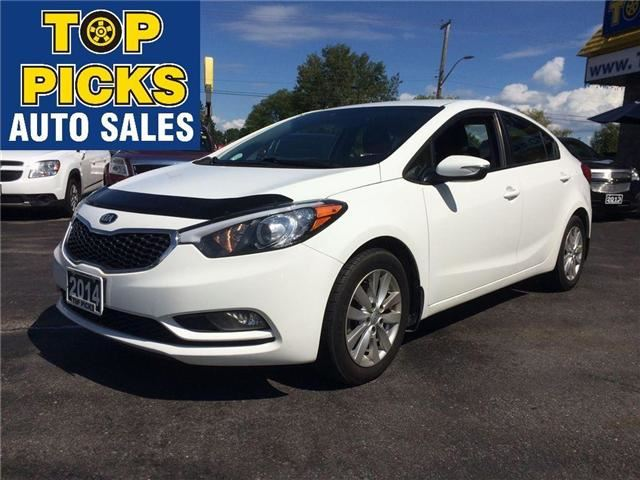 2014 kia forte white top picks auto sales. Black Bedroom Furniture Sets. Home Design Ideas
