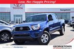 2015 Toyota Tacoma Doublecab SR5 upgrade pkg with alloys in Georgetown, Ontario
