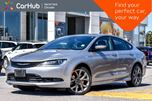 2015 Chrysler 200 S CleanCarProof Sun/Sound,Comfort Pkgs Nav Bluetooth Rear Cam 19Alloys  in Thornhill, Ontario