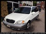 2002 Kia Sedona EX* LIMITED* LEATHER* SUNROOF* GREAT SHAPE* CERTIFIED & ETESTED* in Toronto, Ontario