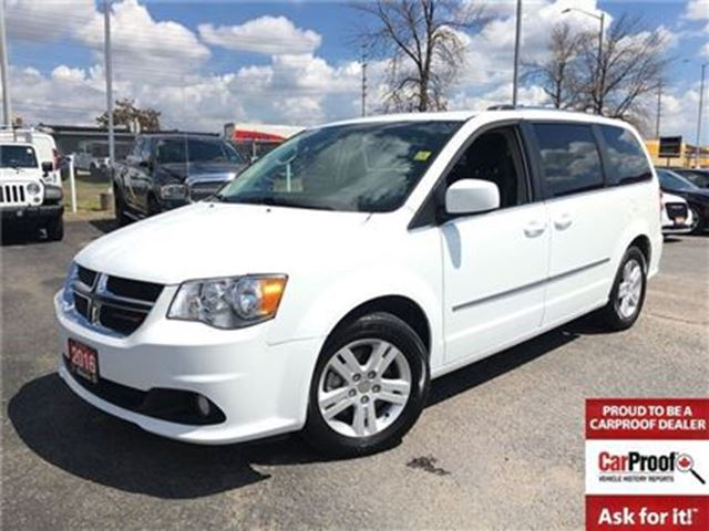 2016 dodge grand caravan crew leather sunroof 6 5 touchscreen power sli white ontario. Black Bedroom Furniture Sets. Home Design Ideas