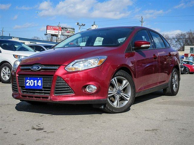 2014 ford focus se toronto ontario used car for sale 2566166. Black Bedroom Furniture Sets. Home Design Ideas