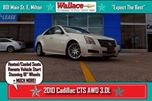 2010 Cadillac CTS 3.0L/NEW RIMS/HTD&CLD STS/RMT SRT/PARK ASSIST in Milton, Ontario