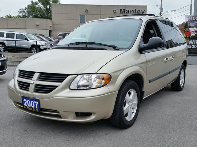 2007 dodge caravan sxt gold manley motors limited for Manley motors used cars