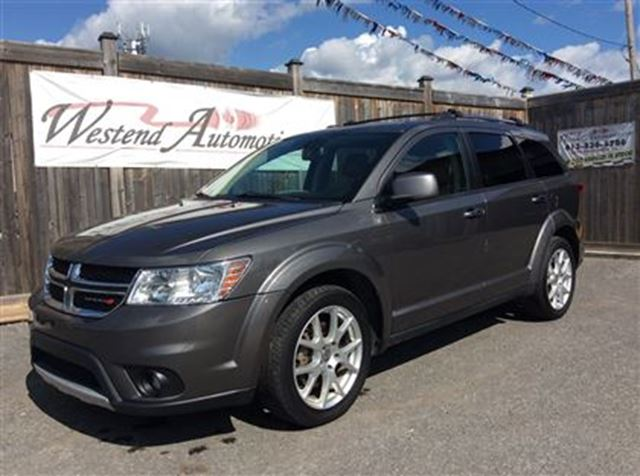 2013 dodge journey rt awd dark grey westend automotive. Black Bedroom Furniture Sets. Home Design Ideas