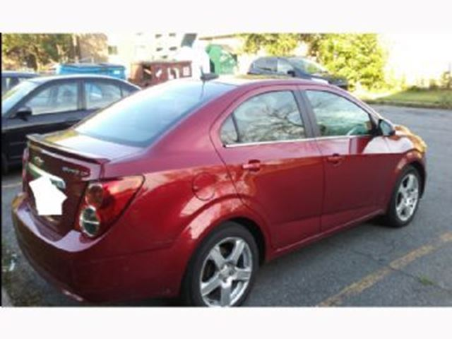 2015 chevrolet sonic lt mississauga ontario car for. Black Bedroom Furniture Sets. Home Design Ideas