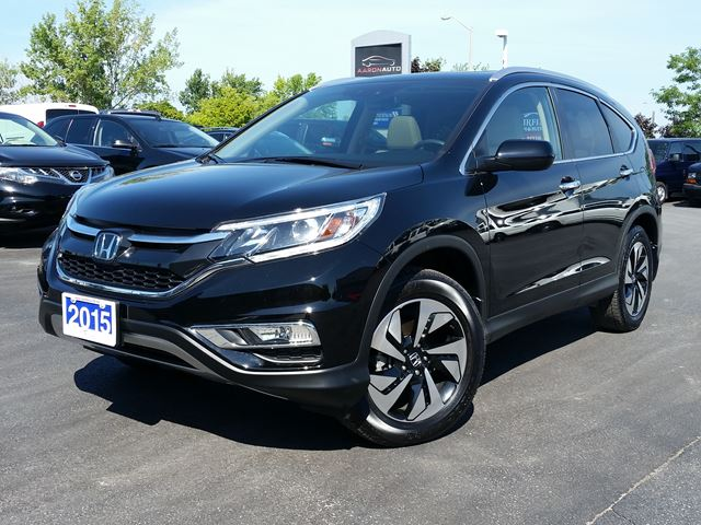 2015 honda cr v touring awd luxury suv navigation black. Black Bedroom Furniture Sets. Home Design Ideas