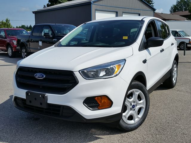 2017 ford escape s white taylor ford new car. Black Bedroom Furniture Sets. Home Design Ideas