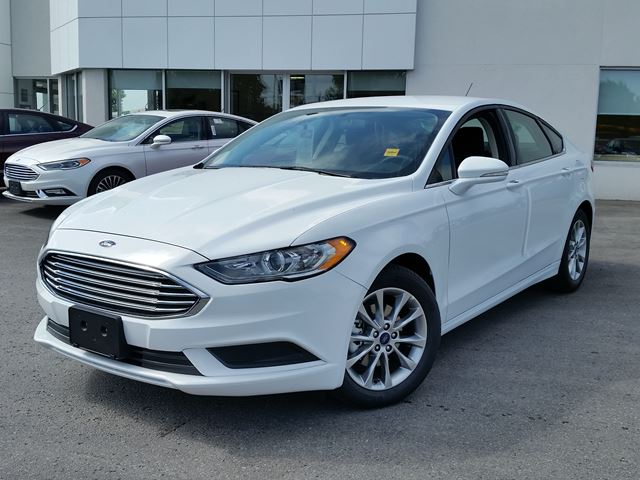 White Ford Fusion Used >> 2017 Ford Fusion SE White | TAYLOR FORD - NEW CAR | Wheels.ca