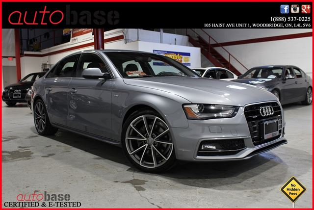 2015 AUDI A4 S-LINE | NAVIGATION | PADDLE-SHIFTERS | DRIVE-SELECT in Woodbridge, Ontario