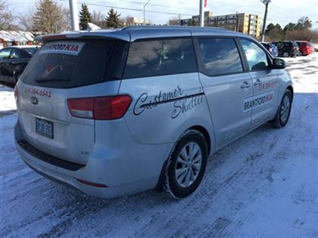 2016 kia sedona lx brantford ontario used car for sale 2567616. Black Bedroom Furniture Sets. Home Design Ideas