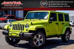 2016 Jeep Wrangler Unlimited WRANGLER UNLIMITED SAHARA in Thornhill, Ontario