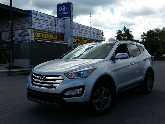 2014 hyundai santa fe sport luxury silver newmarket hyundai. Black Bedroom Furniture Sets. Home Design Ideas