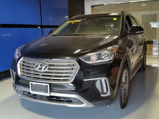 2017 hyundai santa fe xl ultimate all in pricing 232 b w hst newmarket ontario used car. Black Bedroom Furniture Sets. Home Design Ideas