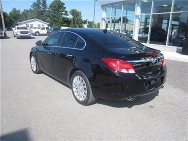 2012 buick regal turbo certified b w low mileage cobourg ontario used car for. Black Bedroom Furniture Sets. Home Design Ideas