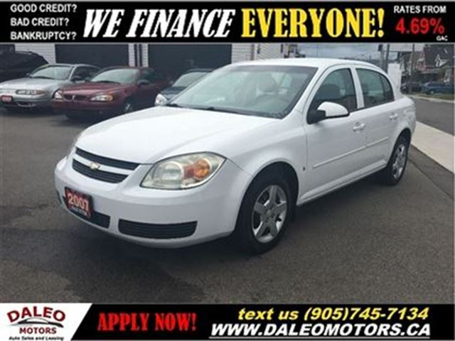 2007 Chevrolet Cobalt Lt No Credit Check Leasing White