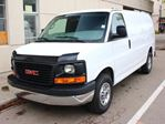 2015 GMC Savana 2500 CARGO VAN V8 ENGINE LOW KM REAR CAMERA FINANCE AVAILABLE in Edmonton, Alberta