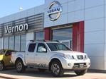 2016 Nissan Frontier PRO-4X Crew Cab with Leather Package in Kelowna, British Columbia