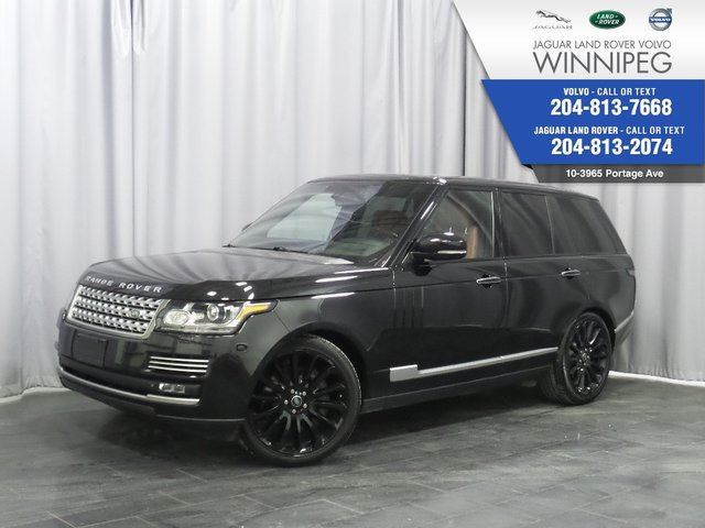 2014 LAND ROVER RANGE ROVER SC Autobiography Warranty to 160,000kms in Winnipeg, Manitoba