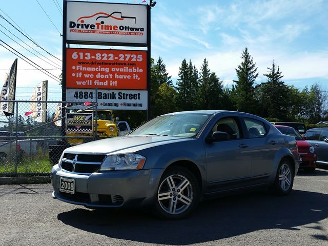 2008 dodge avenger sxt ottawa ontario used car for sale 2568490. Cars Review. Best American Auto & Cars Review